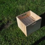 Outdoor Oversized Jenga in a Convenient Carry box